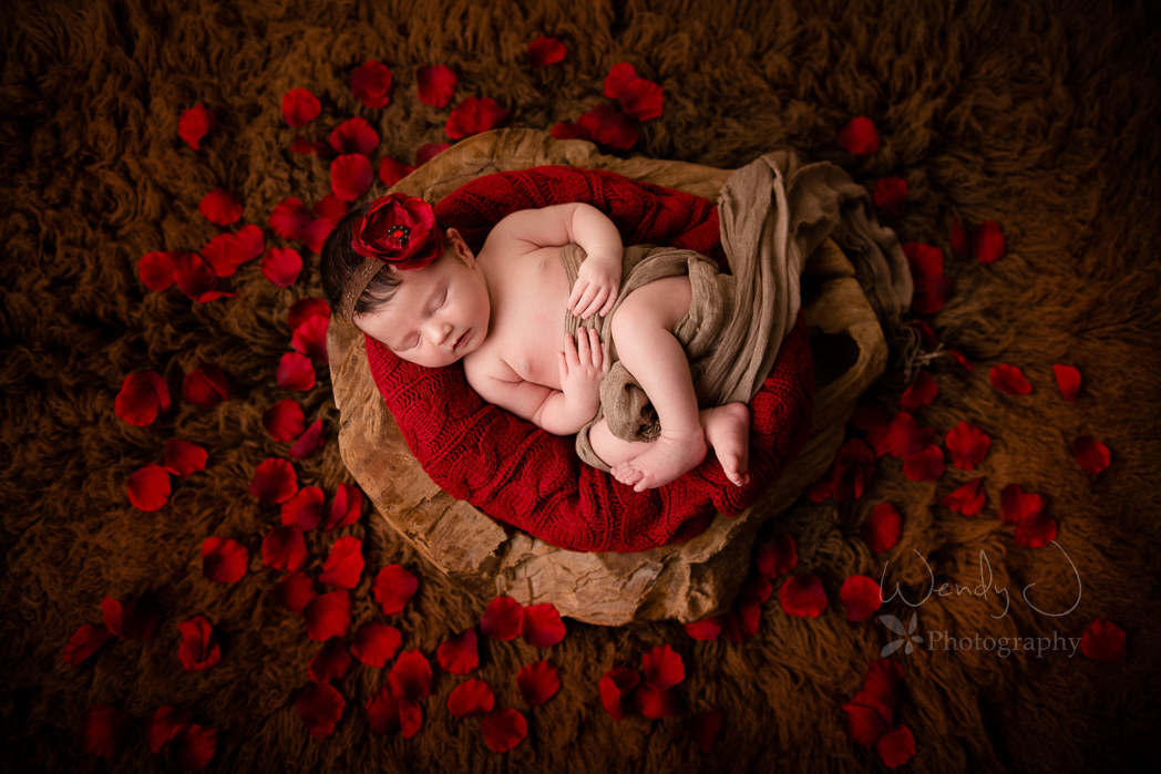 Vancouver newborn photography session by Wendy J Photography, Vancouver B.C.