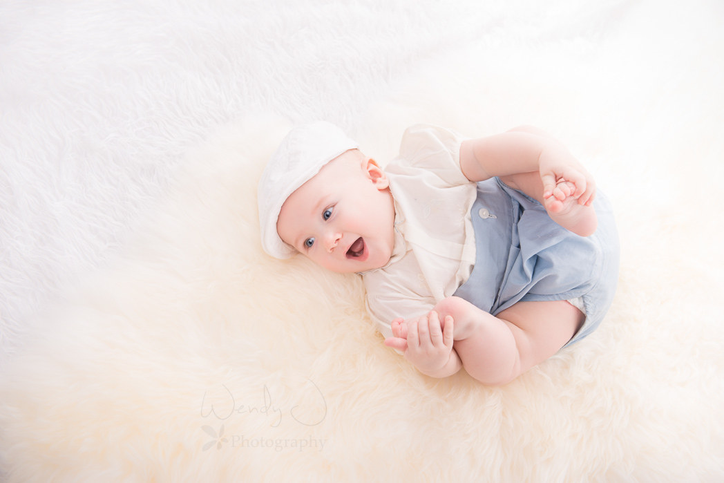 Vancouver baby photography, 6 month old boy.