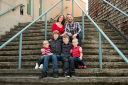 Outdoor family photography session, Burnaby B.C.