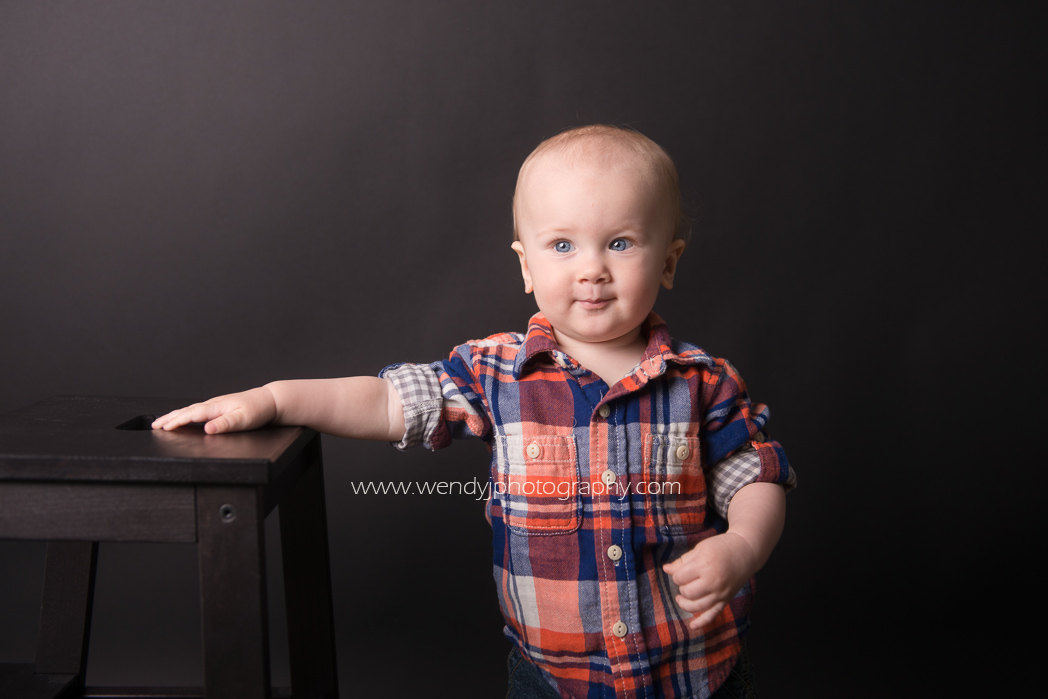 One year old baby boy photographed by Wendy J Photography, Vancouver B.C.
