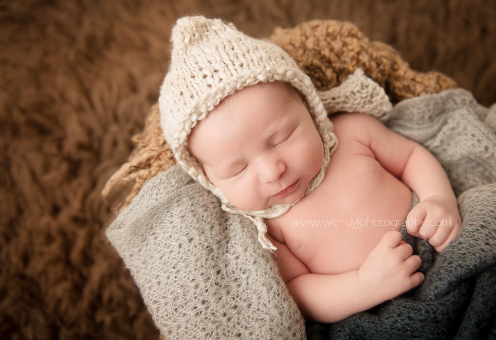 Newborn baby photography session, Coquitlam B.C.
