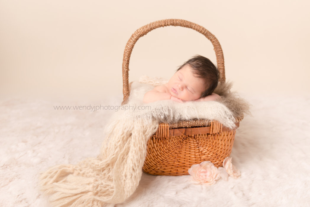 Vancouver newborn photography session by Wendy J Photography.