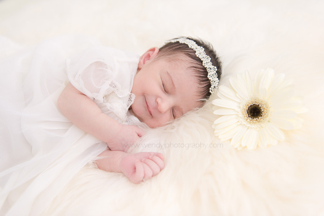 Newborn baby photography session in Vancouver B.C. Canada