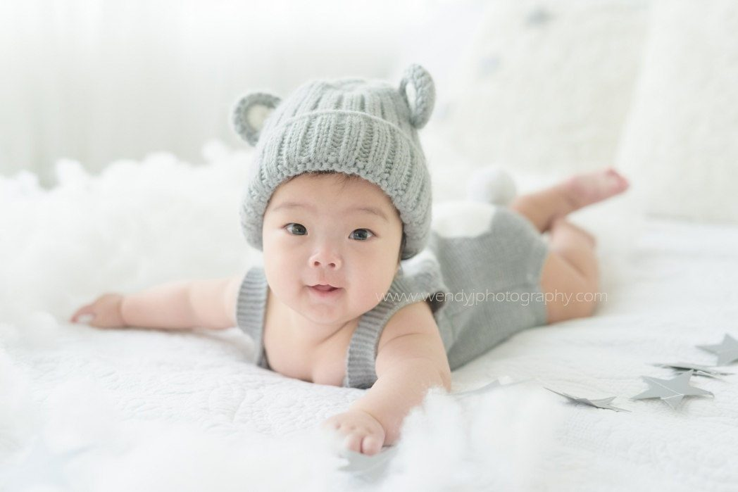 110 Days baby photography, Surrey, Vancouver B.C.